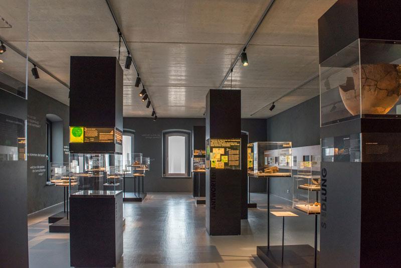 Museum Schnippenburg Innenansicht, Ostercappeln